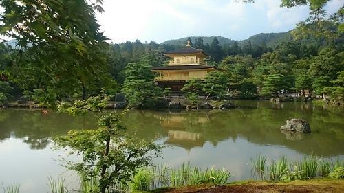 世界文化遺産 鹿苑寺 金閣寺