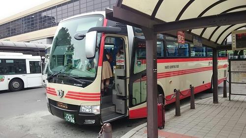 岩手県北バス 106急行 盛岡駅前
