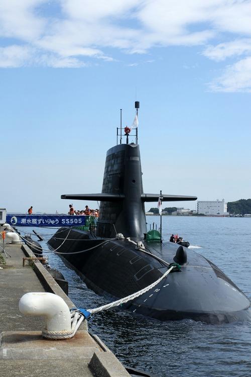 SS505 潜水艦ずいりゅう ヨコスカサマーフェスタ2014