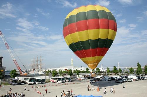 横浜開港祭 横浜開港気球フライト体験