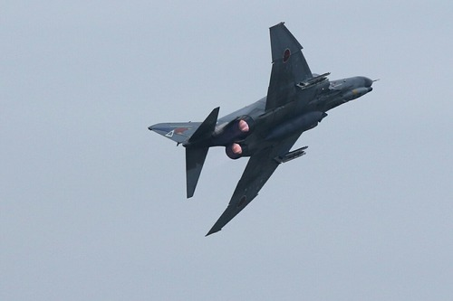 機動飛行 F-4EJ ファントムⅡ 百里基地創設50周年記念航空祭