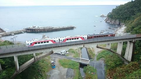 三陸鉄道 大沢橋梁
