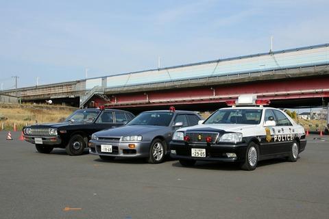 車両展示 第40回警視庁白バイ安全運転競技大会