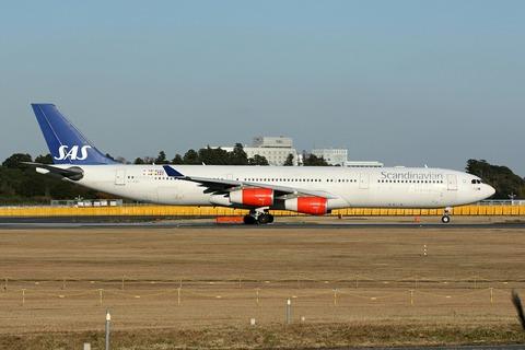 OY-KBD A340-300 SAS RJAA