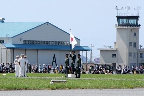 オープニングセレモニー 木更津航空祭 陸上自衛隊 木更津駐屯地