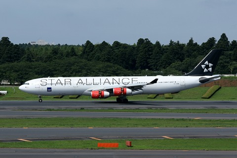 OY-KBM A340-300 SAS STAR ALLIANCE RJAA