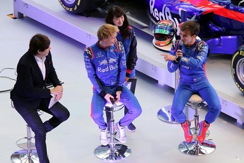 Pierre Gasly Brendon Hartley F1開幕前イベント 六本木ヒルズ