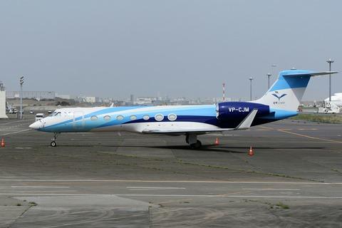 VP-CJM Gulfstream G550 RJTT