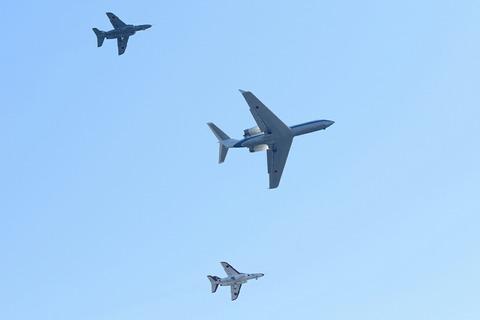 U-4 T-4 飛行展示 入間航空祭2018 航空自衛隊 入間基地