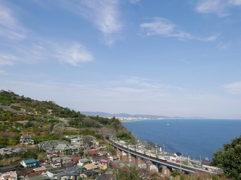 JR東日本 185系 踊り子 東海道本線 石橋橋梁