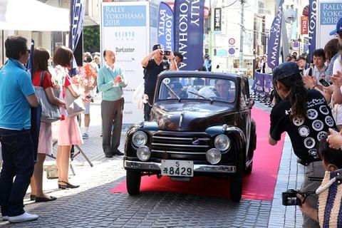 18 FIAT TOPPOLINO 1953 RALLY YOKOHAMA 2018
