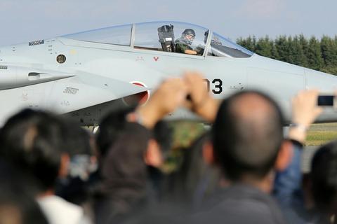 12-8803 F-15J 帰投 入間航空祭2018 航空自衛隊 入間基地