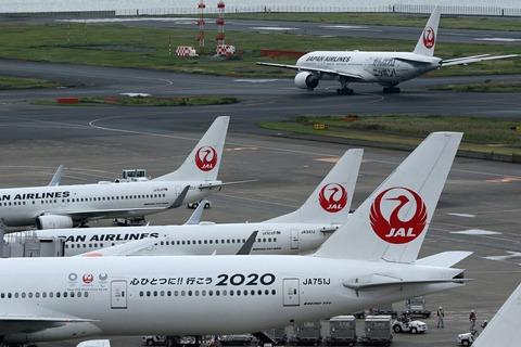 JAL オリンピック塗装機 Two-Shot RJTT