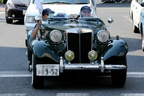 14 MG TD 1952 RALLY YOKOHAMA 2016