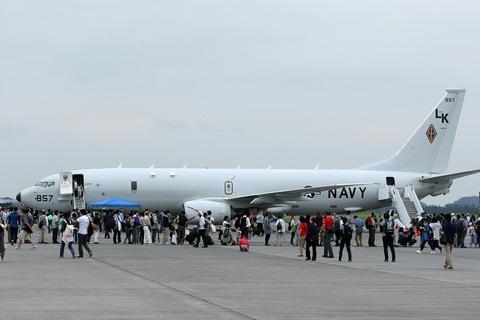 857 P-8 アメリカ海軍 RJTY 横田基地日米友好祭