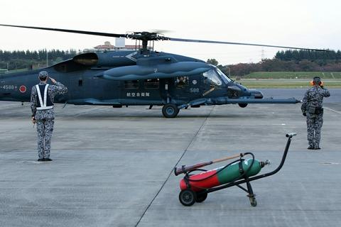 98-4588 UH-60J 帰投 入間航空祭2018 航空自衛隊 入間基地
