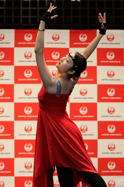 JAL ダンスパフォーマンス 西川沙羅 羽田 空の日フェスティバル
