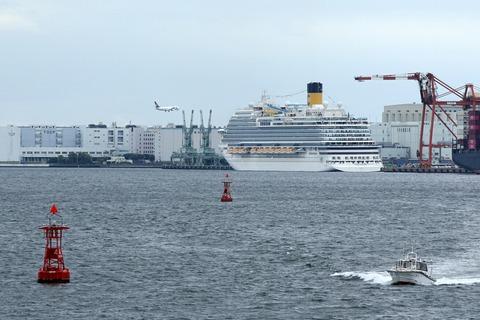 コスタ ベネチア COSTA VENEZIA 大井埠頭 シンフォニークラシカ船上