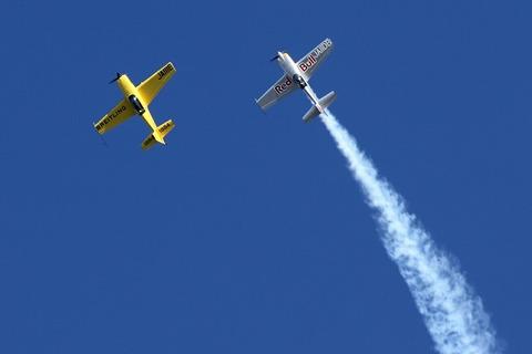 JA11DB JA111E 室屋義秀選手エアショー Fly Again Tsuchiura2017
