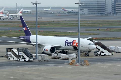 N853FD B777-F FDX RJTT 緊急着陸機 FX90便