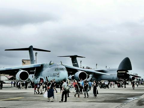 C-2 C-5 輸送機 地上展示機 アメリカ空軍 横田基地日米友好祭