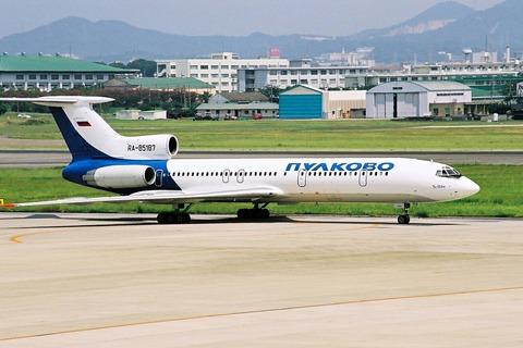 RA-85187 Tu-154M PLK RJNN フィルム画像