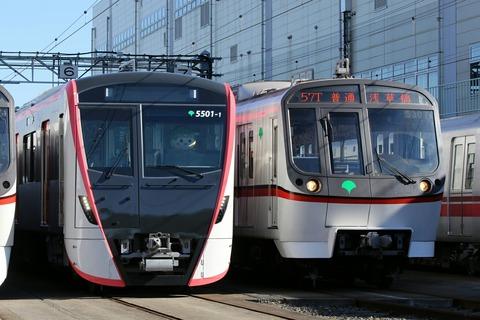 東京都交通局 5500形 5300形 車両撮影会 都営フェスタ2017in浅草線