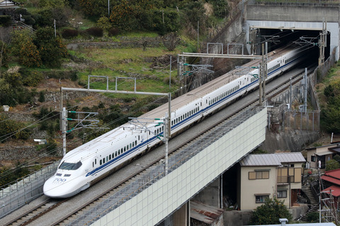 JR東海 ありがとう東海道新幹線700系 C53編成 石橋