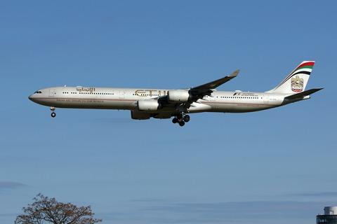 A6-EHE A340-600 ETD RJAA