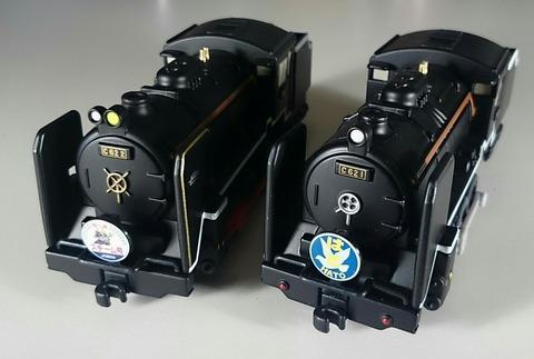 C62 1 C62 2 梅小路蒸気機関車館 チョロQ