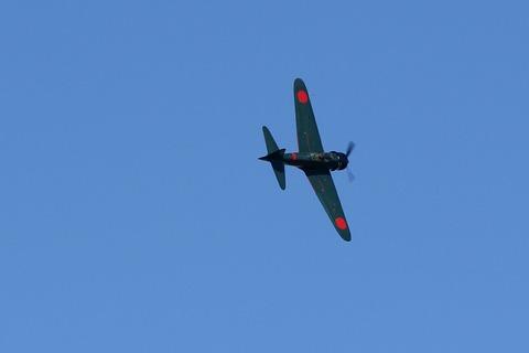 N553TT A6-M3 零戦里帰りプロジェクト Fly Again Tsuchiura2017
