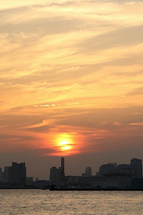 夕景 若洲海浜公園