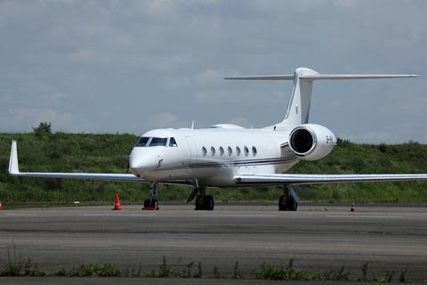 B-HHI Gulfstream G550 RJTT