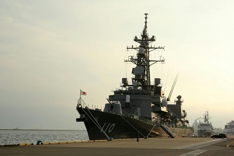 DD-110 護衛艦たかなみ 一般公開 第44回川崎みなと祭り 川崎港東扇島