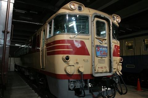 キハ82系 特急型気動車 リニア・鉄道館