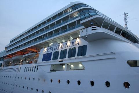 コスタ ネオロマンチカ COSTA neoROMANTICA 東京港 晴海埠頭