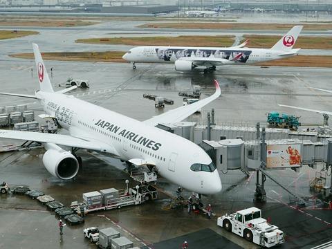 JA04XJ A350-900 JAL 20th ARASHI THANKS JET RJTT