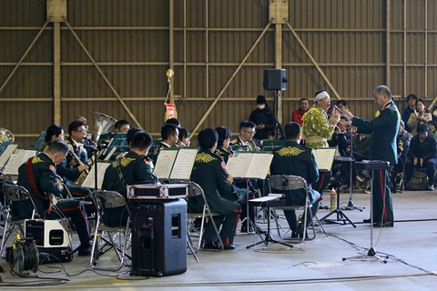 陸上自衛隊第1音楽隊 演奏 立川防災航空祭 陸上自衛隊 立川駐屯地