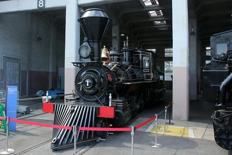 7100形7105号機「義経」号 梅小路蒸気機関車館