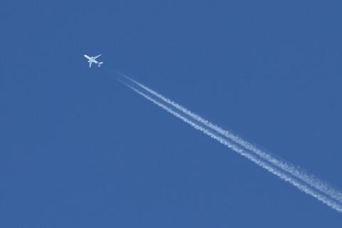 N590HA B767-300 HAL RJTT ホノルル仁川便上空通過