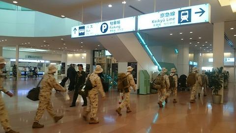 羽田空港 到着ロビー