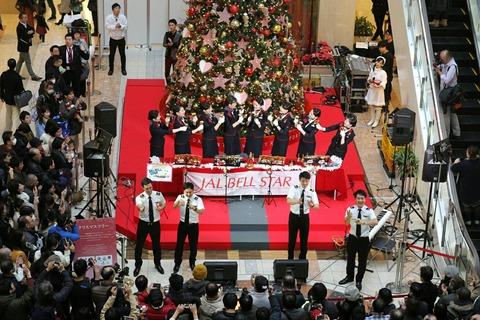 JAL BELL STAR 恋ダンス 羽田空港 クリスマスイベント