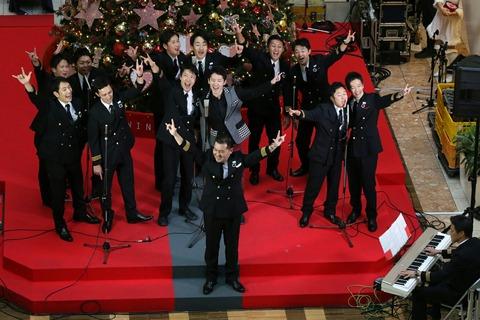 JAL 空飛ぶ合唱団 羽田空港 クリスマスイベント