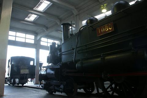 1070形1080号機 梅小路蒸気機関車館