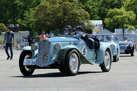 6 FIAT BALLILA SPORTS 508 S 1934 RALLY YOKOHAMA 2018