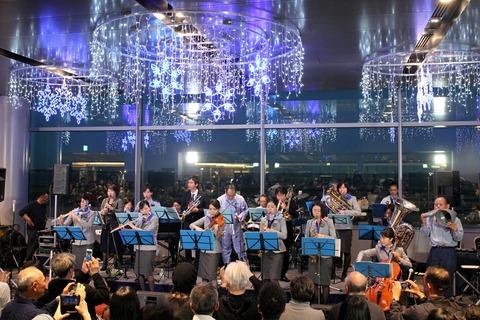 ANA Team HANEDA Orchestra 羽田空港 クリスマスイベント