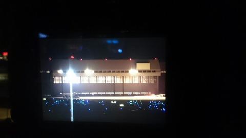 カメラ液晶画面 羽田空港