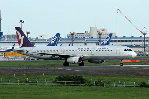 B-MAQ A321-200 AMU RJAA