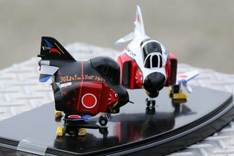 オジロファントム F-4EJ 模型 百里基地航空祭 航空自衛隊