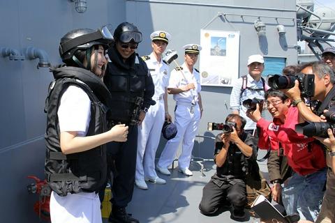 防弾衣 DD-107 護衛艦 いかづち 一般公開 第69回 東京みなと祭